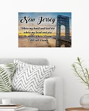 NEW JERSEY WHERE MY LOVED ONES ARE 24x16 Poster poster-landscape-24x16-lifestyle-01