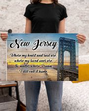 NEW JERSEY WHERE MY LOVED ONES ARE 24x16 Poster poster-landscape-24x16-lifestyle-20