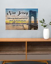 NEW JERSEY WHERE MY LOVED ONES ARE 24x16 Poster poster-landscape-24x16-lifestyle-25