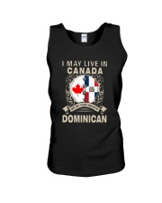 LIVE IN CANADA MY STORY IN DOMINICAN Unisex Tank thumbnail