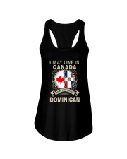 LIVE IN CANADA MY STORY IN DOMINICAN Ladies Flowy Tank thumbnail