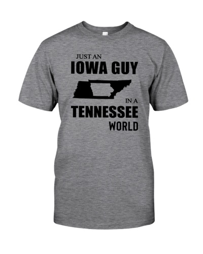 JUST AN IOWA GUY IN A TENNESSEE WORLD