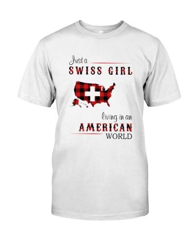 SWISS GIRL LIVING IN AMERICAN WORLD