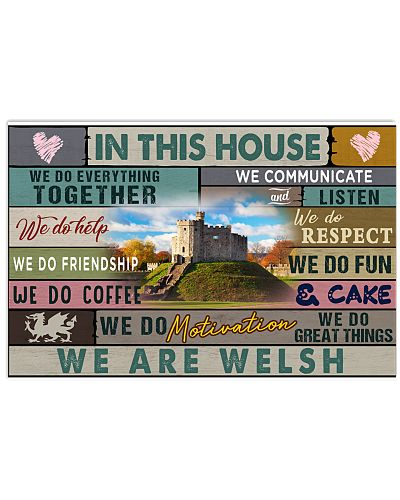 IN THIS HOUSE WE ARE WELSH