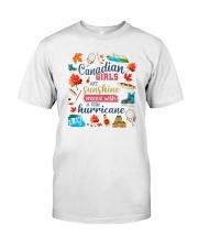 CANADIAN GIRLS SUNSHINE MIXED HURRICANE Classic T-Shirt thumbnail