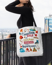 CANADIAN GIRLS SUNSHINE MIXED HURRICANE All-over Tote aos-all-over-tote-lifestyle-front-05