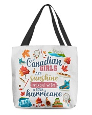 CANADIAN GIRLS SUNSHINE MIXED HURRICANE All-over Tote back