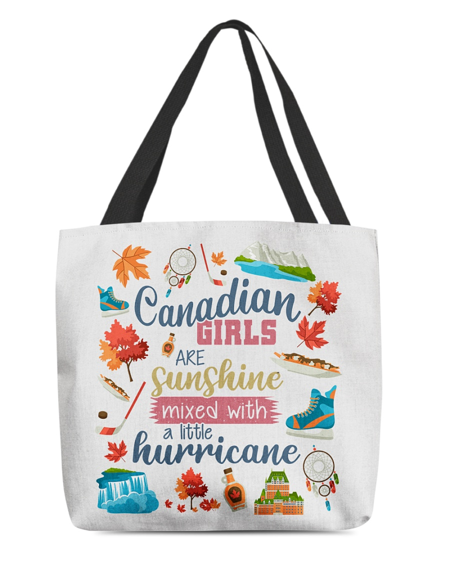 CANADIAN GIRLS SUNSHINE MIXED HURRICANE All-over Tote