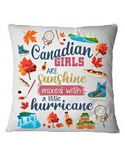 CANADIAN GIRLS SUNSHINE MIXED HURRICANE Square Pillowcase thumbnail