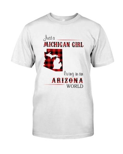MICHIGAN GIRL LIVING IN ARIZONA WORLD