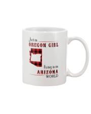 OREGON GIRL LIVING IN ARIZONA WORLD Mug thumbnail