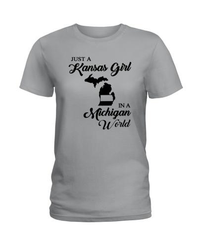 JUST A KANSAS GIRL IN A MICHIGAN WORLD
