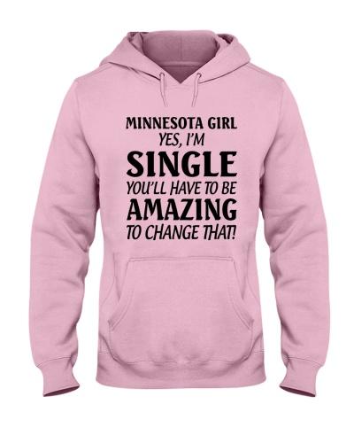 MINNESOTA GIRL I'M SINGLE