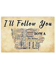 I'LL FOLLOW YOU IOWA 17x11 Poster front