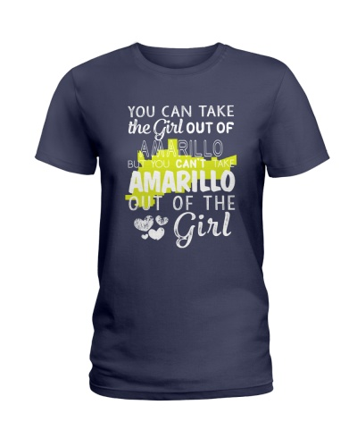 YOU CAN'T TAKE AMARILLO OUT OF THE GIRL