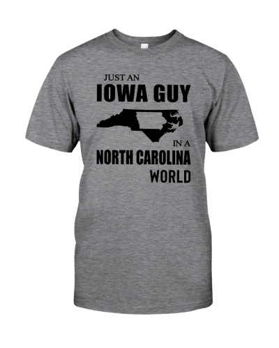 JUST AN IOWA GUY IN A NORTH CAROLINA WORLD