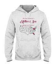 PENNSYLVANIA FLORIDA THE LOVE MOTHER AND SON Hooded Sweatshirt tile