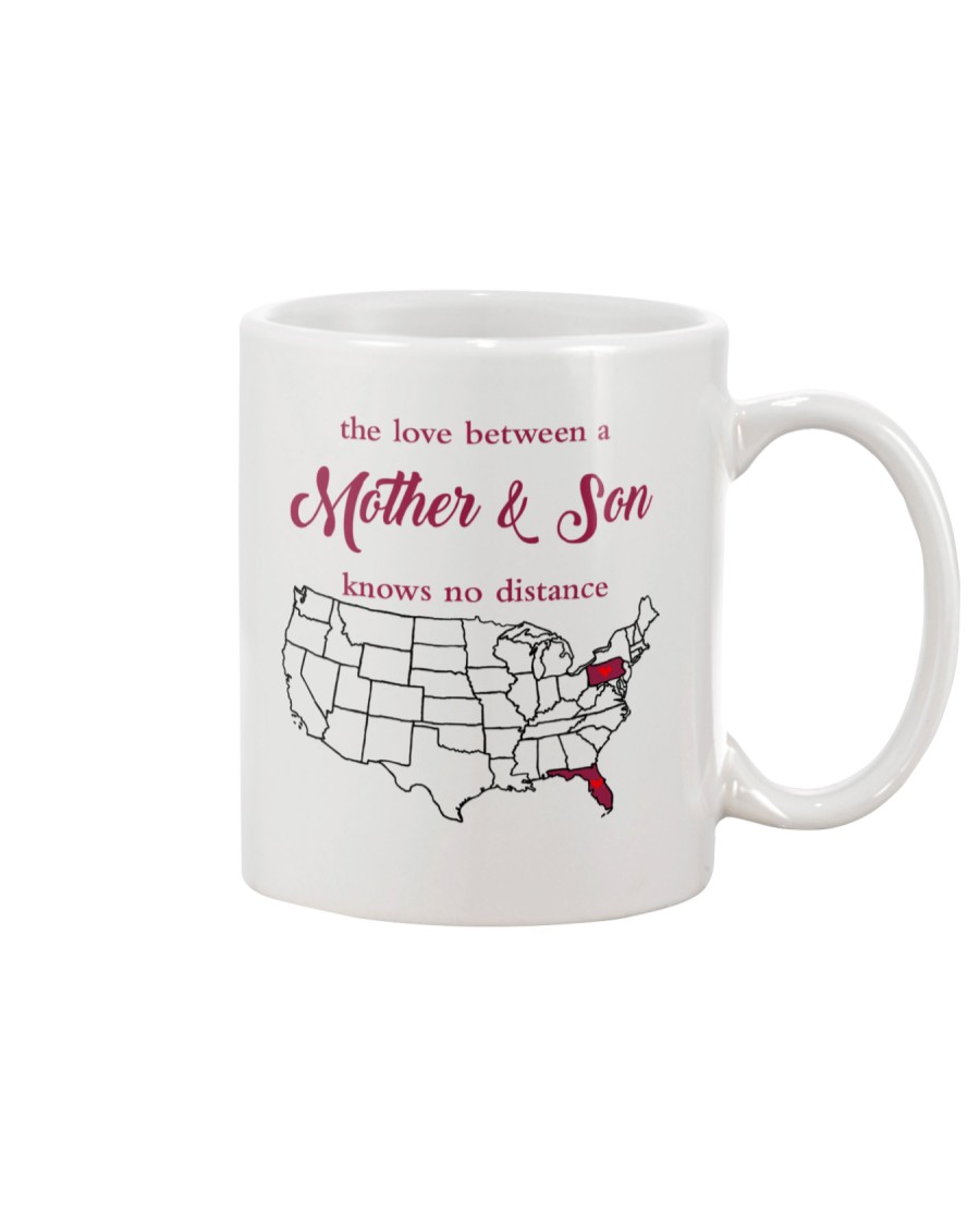 PENNSYLVANIA FLORIDA THE LOVE MOTHER AND SON Mug