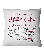 PENNSYLVANIA FLORIDA THE LOVE MOTHER AND SON Square Pillowcase thumbnail
