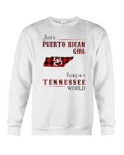 PUERTO RICAN GIRL LIVING IN TENNESSEE WORLD Crewneck Sweatshirt thumbnail