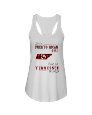PUERTO RICAN GIRL LIVING IN TENNESSEE WORLD Ladies Flowy Tank thumbnail