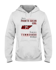 PUERTO RICAN GIRL LIVING IN TENNESSEE WORLD Hooded Sweatshirt thumbnail