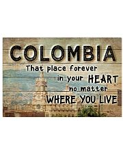 COLOMBIA THAT PLACE FOREVER IN YOUR HEART 17x11 Poster front