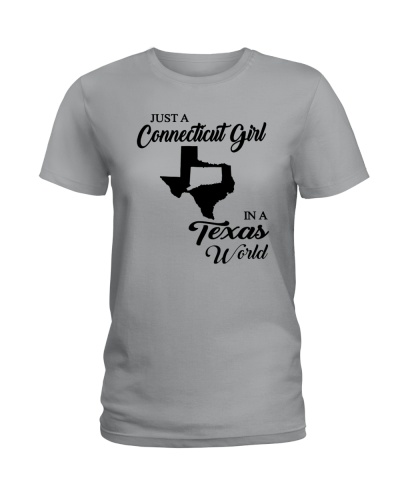JUST A CONNECTICUT GIRL IN A TEXAS WORLD
