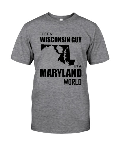 JUST A WISCONSIN GUY IN A MARYLAND WORLD