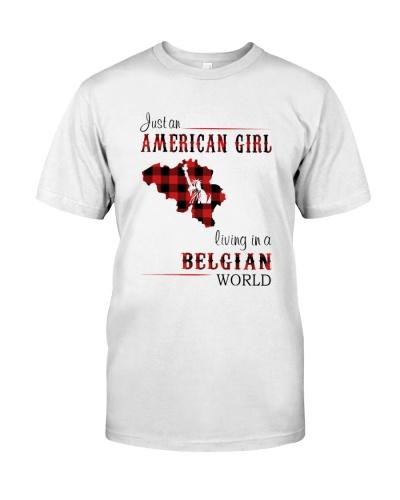 AMERICAN GIRL LIVING IN BELGIAN WORLD