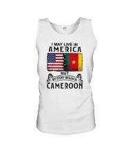 LIVE IN AMERICA BEGAN IN CAMEROON Unisex Tank thumbnail