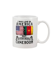 LIVE IN AMERICA BEGAN IN CAMEROON Mug thumbnail