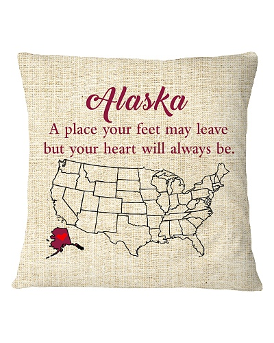 ALASKA A PLACE YOUR FEET MAY LEAVE