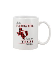 FLORIDA GIRL LIVING IN TEXAS WORLD Mug thumbnail