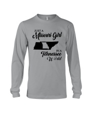 JUST A MISSOURI GIRL IN A TENNESSEE WORLD Long Sleeve Tee thumbnail