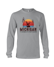 MICHIGAN IT'S WHERE MY STORY BEGINS Long Sleeve Tee thumbnail