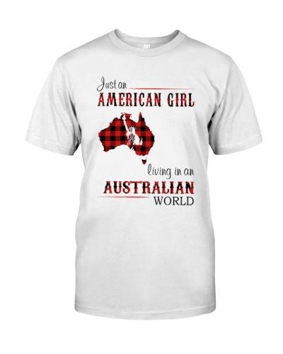 AMERICAN GIRL LIVING IN AUSTRALIAN WORLD