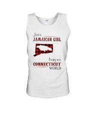 JAMAICAN GIRL LIVING IN CONNECTICUT WORLD Unisex Tank thumbnail