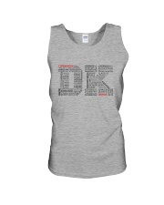 DENMARK CITIES Unisex Tank tile