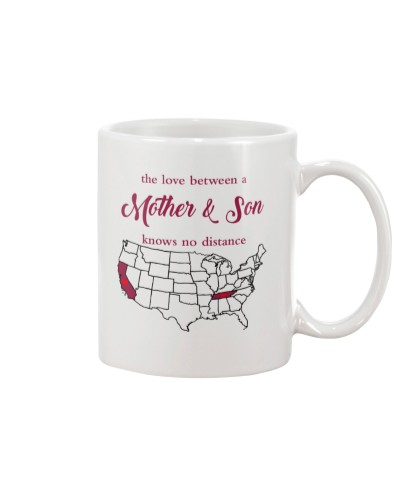 CALIFORNIA TENNESSEE THE LOVE MOTHER AND SON