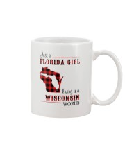 FLORIDA GIRL LIVING IN WISCONSIN WORLD Mug thumbnail