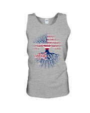 LIVE IN AMERICA AUSTRALIAN ROOTS Unisex Tank thumbnail