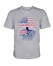 LIVE IN AMERICA AUSTRALIAN ROOTS V-Neck T-Shirt thumbnail