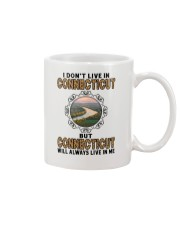 CONNECTICUT WILL ALWAYS LIVE IN ME Mug thumbnail