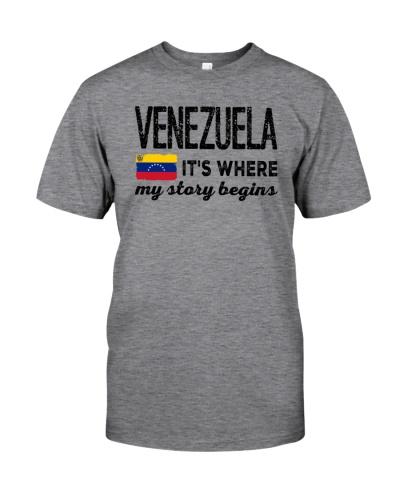 VENEZUELA IT'S WHERE MY STORY BEGINS