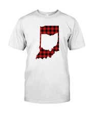 OHIO IN INDIANA WORLD Classic T-Shirt front