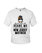 I WAS RAISED BY A JERSEY MOTHER Youth T-Shirt thumbnail