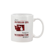 MICHIGAN GIRL LIVING IN WASHINGTON WORLD Mug thumbnail