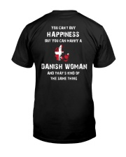 YOU CAN MARRY A DENMARK WOMAN Classic T-Shirt back