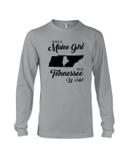 JUST A MAINE GIRL IN A TENNESSEE WORLD Long Sleeve Tee thumbnail